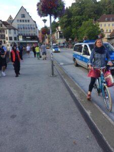 Erhöhte Polizeipräsenz im Rahmen der Razzia