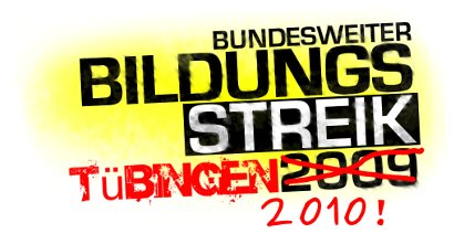 Bildungsstreik Tübingen